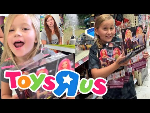 OUR POOL EXPLODED! TOYSRUS SHOPPING GOES RIGHT! FAN MAIL CANDY CHAOS!