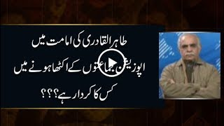 CapitalTV: Who brought the opposition on one page against PMLN govt?