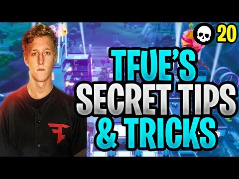 The SECRET Tricks That Make Tfue The Fortnite GOAT! (Tfue Breakdown - Tips & Tricks)