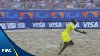 Brilliant beach battle settled on penalties