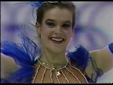 Katarina Witt (GDR) - 1988 Calgary Winter Olympic Games, Ladies' Short Program