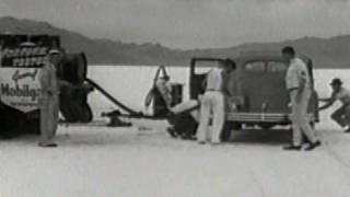 Chrysler Airflow at Bonneville