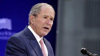 Former presidents appear to rebuke Trump