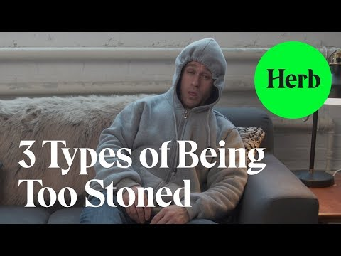 3 Types of Being Too Stoned - Cannabis Longley