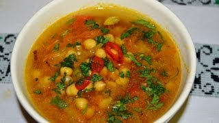 Chick Peas Soup (garbanzo Bean Soup)