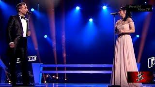 Alexander/Elena.'The Phantom of the Opera'.The Voice Russia 2015.