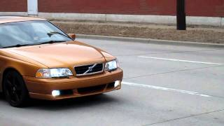 Volvo C70 Burn Out 1