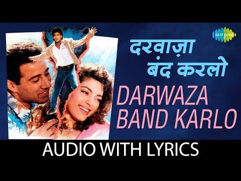 Darwaza Band Karlo with lyrics | दरवाज़ा बंद करलो के बोल | Lata Mangeshkar | Abhijeet Bhattacharya