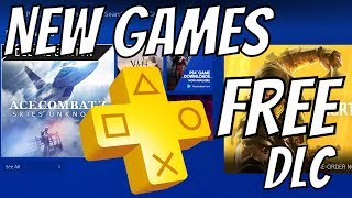 NEW PS4 GAMES - PS4 FREE GAME GIVEAWAY & also PS PLUS FREE GAME DLC