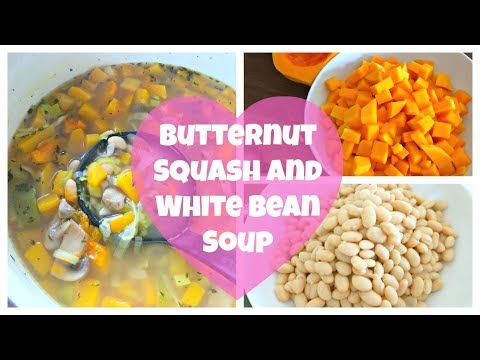 Butternut Squash and White Bean Soup   By: What Chelsea Eats