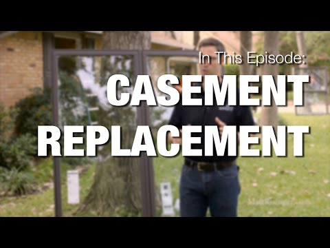 Replacing a Casement Window in a Brick Opening