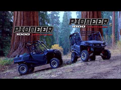 2017 Honda Pioneer 1000 Ltd Commonwealth PowerSports