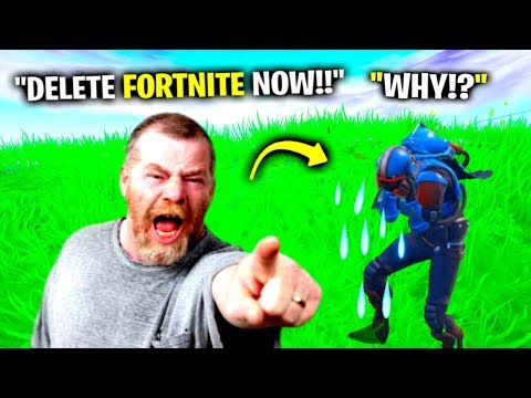 I Pretended To Be His DAD in Fortnite