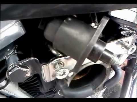 Harley Davidson FXST'04 injector  mechanical adjustment idle