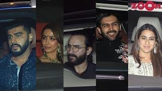 Karan Johar's Diwali Party 2018 | Saif & Sara Ali Khan, Arjun Kapoor, Malaika Arora & more