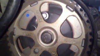 tutorial cambiar correa distribucion citroen c4 parte 1 - how to change a timing belt