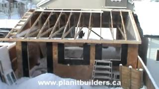 Calgary Garage Builders And Developers - Start To Finish Garage With Planit Builders