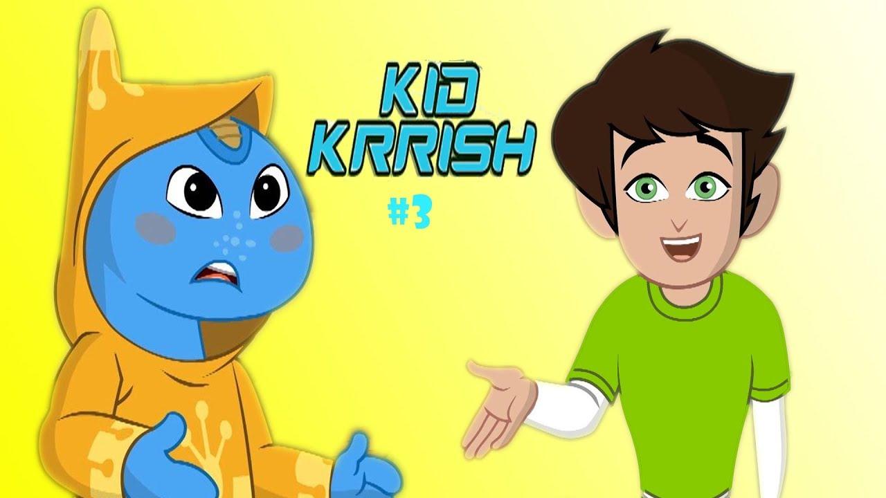 Kid Krrish Movie Cartoon Cartoon Movies For Kids Robot Alien In The Jungle Part 3
