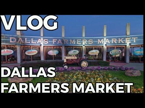 Vlog - Trip To Dallas Farmers Market - Pumpkins!