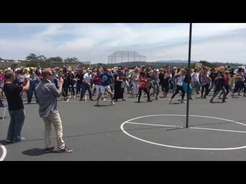 Del Mar Heights Dancefest 2016 - Flash Mob!