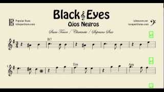 Video Black Eyes Sheet Music for Soprano Saxophone Tenor Saxophone and Clarinet Ojos Negros download MP3, 3GP, MP4, WEBM, AVI, FLV Juli 2018