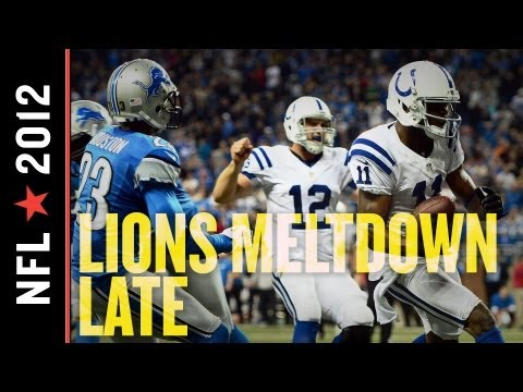Lions vs Colts 2012: Andrew Luck Leads Late Comeback, Send Detroit Packing to Fourth Straight Loss