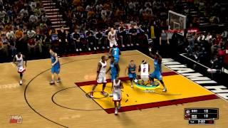 NBA 2K13 Demo Gameplay - Heat vs Thunder