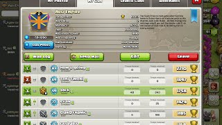 Join my Clan in Clash Of Clans for for Co Leader |Im no longer in it Read description why