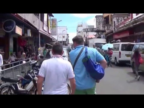 Port Louis - authentic street tour (Mauritius) - watch at your own risk!