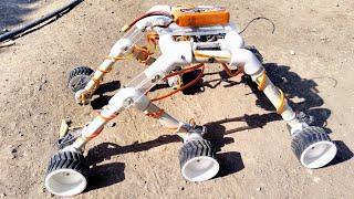 how to make a mars rover/Rocker bogie robot