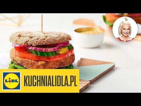 Burger Z Cieciorki Z Dipem Ananasowym Daria ładocha Kuchnia Lidla