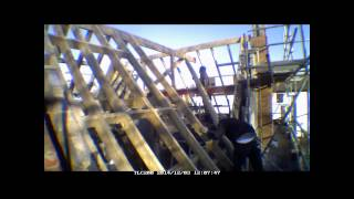 Week 13 Self Build Brick Uk Time Lapse House Cut Roof