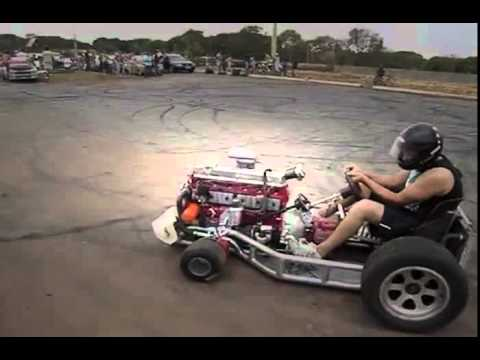 Kart with 6 cylinders motor !