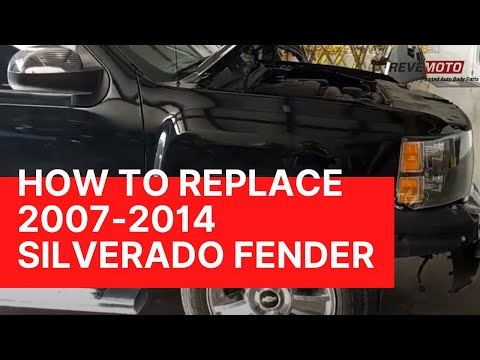 How to Replace a Chevrolet Silverado Fender