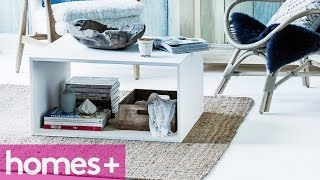 Diy Project: Box Coffee Table - Homes+