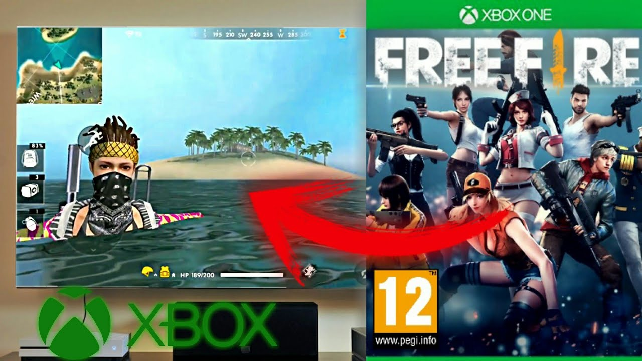 Free Fire Para Xbox One Real Youtube