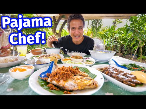 Meet The Pajama Chef!! FRIED GARLIC FISH - Backyard Food Paradise!!