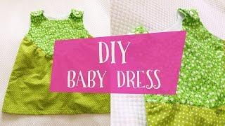 Шьем платье для девочки своими руками + готовая PDF выкройка(Платье