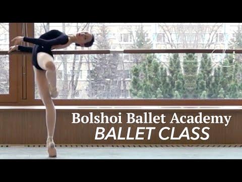 Ballet Class of the Bolshoi Ballet Academy - Moscow, Russia - YAGP Partner School