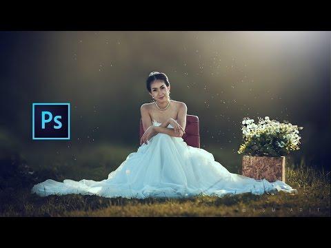 Photoshop Cc Tutorial: Wedding Photo Edit (Photography) ❤❤