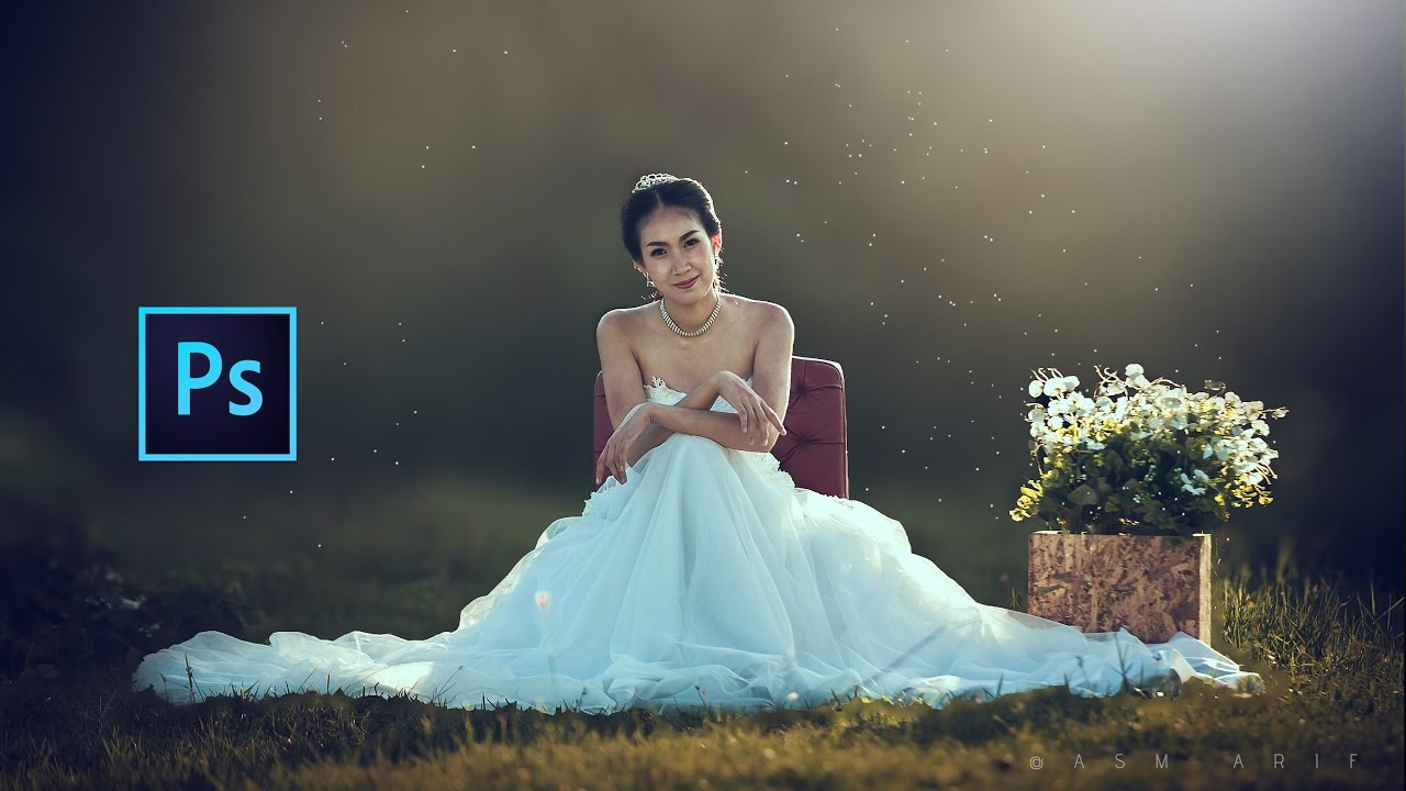 Photoshop cc tutorial wedding photo edit photography for Photoshop wedding photos