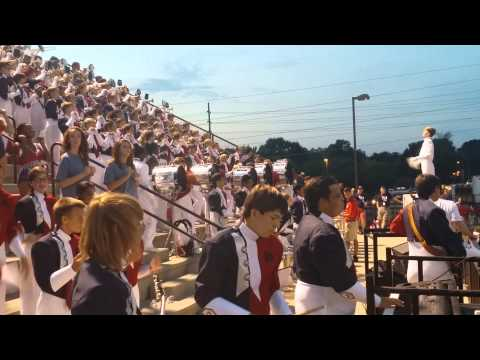BJHS Band Stand Music 8/29/14
