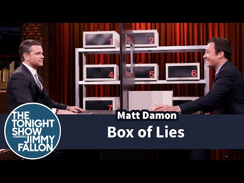 Box of Lies with Matt Damon
