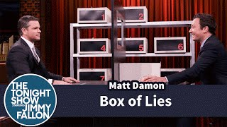 Box of Lies with Matt Damon by : The Tonight Show Starring Jimmy Fallon