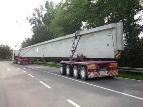 Schwertransport spedition koch ratshausen betontr ger for Koch ratshausen