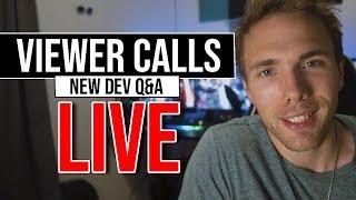 🔴 Viewer Calls Q&A - Live   Daily Standup   @joshuafluke everywhere