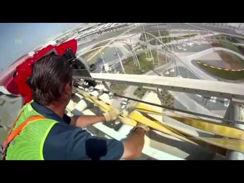 MEGASTRUCTURE FERRARI WORLD ABU DHABI CONSTRUCTION DOCUMENTARY