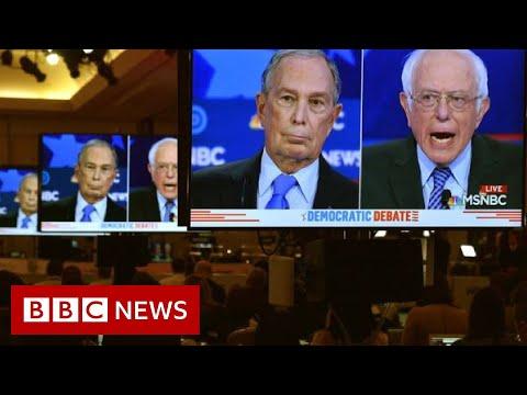 Democratic Debate: Bloomberg Rivals Line Up To Attack Billionaire - BBC News