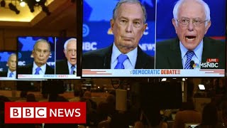 Democratic debate: Bloomberg rivals line up to attack billionaire - BBC News
