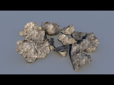 How to model rocks and stones in Maya, fast and easy